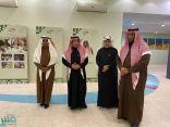 الغنام يدشن معرضًا لتعزيز القيم لدى الطلاب والطالبات بتعليم الرياض