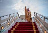 ولي العهد يغادر دولة الإمارات