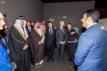 الأمير سلطان بن سلمان يحضر حفل افتتاح معرض العلا في باريس