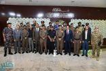 الدفاع المدني يحتفي بتخريج 17 متدرباً من 11 دولة