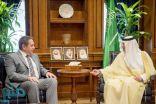 الجبير يبحث العلاقات الثنائية مع سفير روسيا لدى المملكة