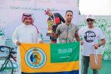 دراج حرس الحدود علي جساس يحقق المركز الأول في سباق الطائف المفتوح