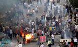 احتجاجات واسعة في إيران بسبب رفع أسعار الوقود