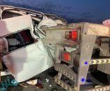 تصادم بين مركبتين بالطائف يسفر عن 10 إصابات وحالتي احتجاز