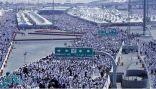 حالة الطقس ودرجات الحرارة في مكة والمدينة والمشاعر المقدسة