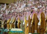 """""""ولي العهد"""" يرعى حفل تخريج الدورة 77 من طلبة كلية الملك عبدالعزيز الحربية"""