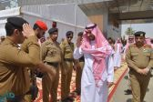 نائب أمير مكة يتفقد نقطة الفرز بمركز الشميسي