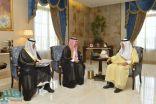 الأمير خالد الفيصل ونائبه يتسلمان التقرير السنوي لمدينة الملك عبدالله الاقتصادية