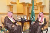 الأمير بدر بن سلطان يستقبل رئيس الهيئة العامة للطيران المدني