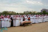 بالصور : تشييع جثمان والد مدير شرطة أحد المسارحة بمحافظة صامطة