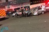 الباحة.. إصابتان في حادث تصادم مركبتين