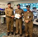قائد مركز القيادة والسيطرة لأمن الحج يكرّم المقدم ظافر جمعان الشهري