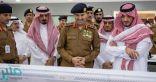 وزير الداخلية يجتمع بقيادات الدفاع المدني المشاركين في مهام الحج