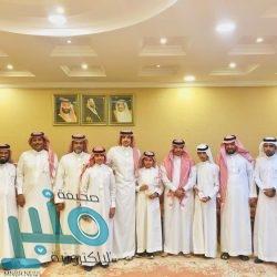 الأمير حسام بن سعود يستقبل رئيس نادي الباحة الأدبي