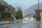 أمطار على منطقة الباحة