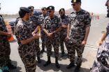 قائد أمن المنشآت يتفقد مواقع القوات بمنطقة المدينة المنورة