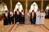 أمير منطقة الرياض يستقبل رئيس مجلس إدارة الجمعية السعودية للجودة