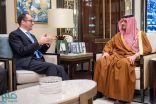 وزير الداخلية يستقبل سفيري النمسا والصين