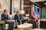 وزير الداخلية يستقبل سفراء المملكة المتحدة والهند وكازاخستان