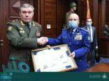 رئيس هيئة الأركان العامة للمملكة يلتقي بنظيره الروسي