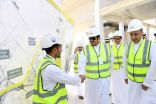 الأمير محمد بن عبدالرحمن يتفقد أعمال مشروع قطار الرياض