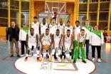أخضر السلة يفوز على البحرين في البطولة العربية
