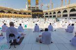 استهلاك أكثر من مليون لتر لتعقيم المسجد الحرام ووقاية قاصديه