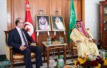 وزير الداخلية يستقبل رئيس الحكومة التونسية