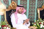 الأمير محمد بن سلطان يتفقد قرية عشم الأثرية في المظيلف