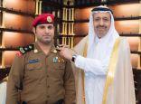 الأمير حسام بن سعود يقلد مدير أمن إمارة منطقة الباحة رتبته الجديدة