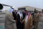 ملك البحرين يغادر الرياض