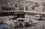 شاهد.. تاريخ مكبرية المسجد الحرام منذ إنشائها في عهد هارون الرشيد