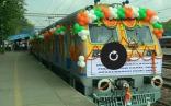 """الهند تدشن أول قطار """"شمسي"""""""