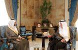 الأمير خالد الفيصل يستقبل محافظ الهيئة العامة للمنشآت الصغيرة والمتوسطة