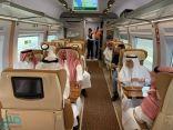 وفد نقل الشورى يشيد بخدمات قطار الحرمين