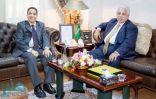 وزير التجارة والاستثمار يزور سفارة المملكة في تركمانستان