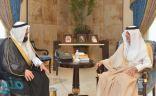 الأمير خالد الفيصل يلتقي الأمين العام للهيئة العالمية للإغاثة والرعاية والتنمية