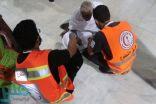 هيئة الهلال الأحمر بمكة تواصل تقديم خدماتها للمعتمرين