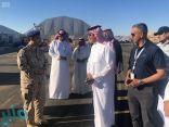 """رئيس """"السعودية للفضاء"""" يقف ميدانياً على استعدادات المعرض السعودي الدولي للطيران"""