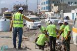 مركز الملك سلمان للإغاثة يواصل تنفيذ مشروعات كثيفة العمالة في محافظة عدن