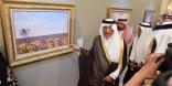 بيع 7 لوحات فنية للأمير خالد الفيصل في مزاد علني بالرياض