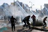 """قوات الاحتلال تقمع مسيرة """"بلعين"""" السلمية الأسبوعية وتصيب العديد بالاختناق"""