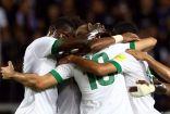 بخطى ثابته الأخضر السعودي يهزم تايلاند بثلاثية