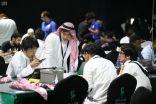 """شاهد.. لماذا حرص الفريق الياباني المشارك في """"هاكثون الحج"""" على ارتداء الزي السعودي؟"""
