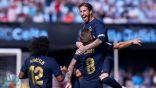"""بعد طرد مودريتش ومشاركة """"مفاجئة"""" لبيل.. ريال مدريد ينتصر"""
