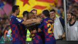 برشلونة يحقق فوزا كبيرا.. وإنجاز تاريخي لغريزمان