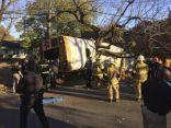 مصرع 6 أطفال في تحطم حافلة مدرسية بولاية تنيسي الأمريكية