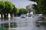 """""""الأرصاد"""": أمطار غزيرة تؤثر على 5 أماكن بمكة المكرمة"""