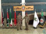 الفريق الركن فهد بن تركي بن عبدالعزيز يستقبل رئيس هيئة الأركان اليمني