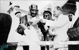 صور نادرة للملك عبد العزيز يدشن أول ناقلة نفط من ميناء رأس تنورة